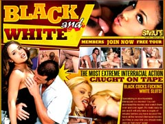 BLACK AND WHITE - the Most Extreme Interracial Action