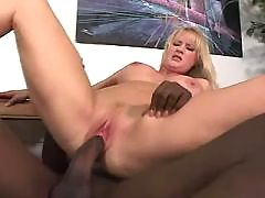 Curvy Honey Drilled By Black Cock