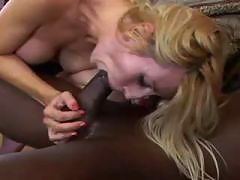 Hot Hungarian Slut Gets Huge Black Cock