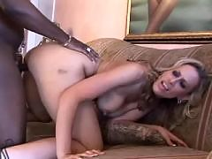 McKenzie Pierce Works A Black Cock