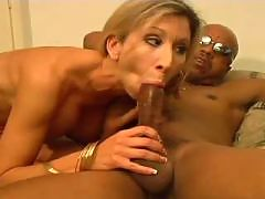 Sierra Snow Enjoying Big Black Dick