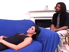 Blond Gal Next Door Takes On Black Boner